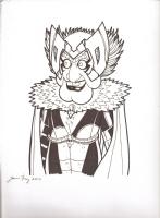 Statler_Deathbird Comic Art