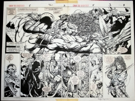 Kayanan - Conan DPS Comic Art