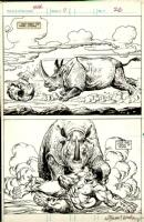 Alfredo Alcala SIGNED - Wilson Hulk Magazine #17 pg 26 ... Maybe Comic Art
