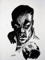 Sinestro Comic Art