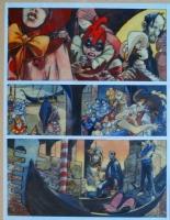 Loisel   Trouble f�te   prix 8000 euros Comic Art