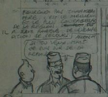 Herg�, Tintin au Tbet, Comic Art