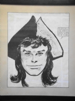 Hugo Pratt, 1957: Ticonderoga illustration. Comic Art