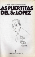 Sr. Lopez sketch, 2006 Comic Art