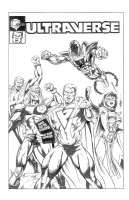 BLACK SEPTEMBER (Malibu Comics Ultraverse) Comic Art
