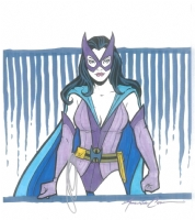 Amanda Conner Huntress Comic Art