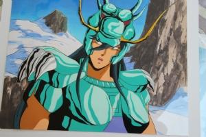 cellulo - chevaliers du zoqiaque  - shiryu 3 Comic Art