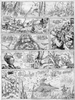 La qu�te de l'oiseau du temps - T02, Comic Art