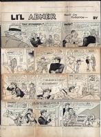 Li'l Abner - Sunday - 11/4/56 Comic Art