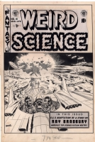 Weird Science #18, Cover Comic Art