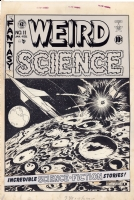 Weird Science #11, Cover Comic Art