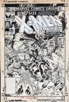 X-Men Annual #5, Cover Comic Art