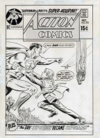 Action #393, Cover Comic Art