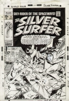 Silver Surfer #9, Cover Comic Art
