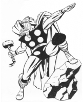 Thor by Steve Rude Comic Art