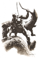 Black Panther by Steve Epting Comic Art