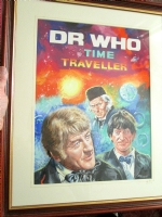 Walter Howarth: The 3 Doctors Comic Art