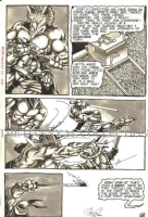 Eastman & Laird's Ninja Turtles Issue #6, Page 26 (TMNT) 1986, Comic Art