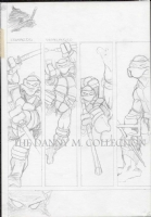 Eastman & Laird's Ninja Turtles Issue #1, Page 18 Prelim (TMNT) 1984, Comic Art
