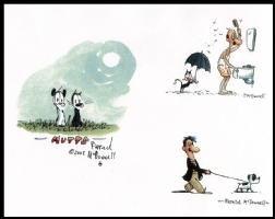 Patrick McDonnell MUTTS Comic Art