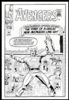 J. Kirby AV #16 Comic Art