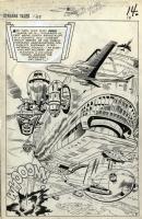 Strange Tales 135 Splash Comic Art