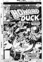 Howard the Duck 10 cover Comic Art