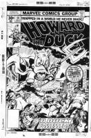 Howard the Duck 14 cover Comic Art