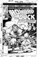 Howard the Duck 5 cover Comic Art