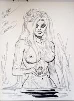 Dave Cockrum Storm Nude (NSFW) Comic Art