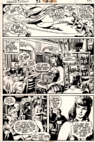 Phantom Stranger #32, page 4 (Black Orchid), Comic Art