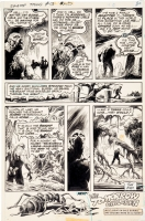 Swamp Thing #13, page 20 (end page), Comic Art