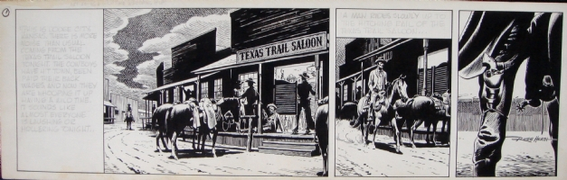 Gunsmoke/National Lampoon -- strip 1, Comic Art