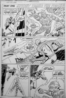 Spidey Super Stories #20, page 2 (with: The Human Torch!), Comic Art