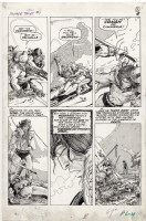 Savage Tales #1, page 3 (CONAN - Frost Giant's Daughter), Comic Art