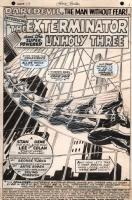 Daredevil #39, page 1, Comic Art