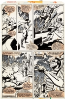 Daredevil #150, page 16 (1st appearance Paladin!), Comic Art