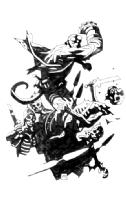 Hellboy vs. zombies!, Comic Art