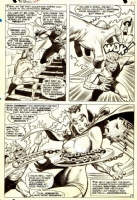 Avengers #47, page 19 (Magneto, Quicksilver & Scarlet Witch) Comic Art