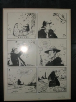 Jesuit Joe Comic Art