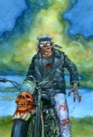 Deadworld issue 1 cover (Image), Comic Art