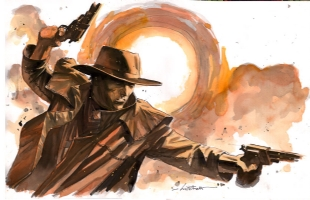 Roland the Gunslinger, Comic Art