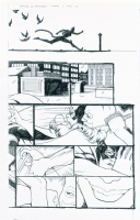 BATMAN CONFIDENTIAL 17 PAGE 14 CATWOMAN Vs BATGIRL BY KEVIN MAGUIRE Comic Art