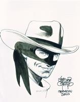SERGIO CARIELLO LONE RANGER MEGACON 2010 Comic Art