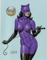 Catwoman by Joseph Michael Linsner Comic Art