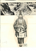 Milton Caniff: Steve Canyon promotional art 1966 Comic Art