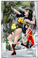 Wonder Women Comic Art