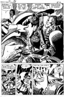 Stallman  Raven  Page Comic Art