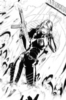 Baroness -  Problem Solved  - Final Art Comic Art