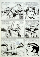 ZAGOR N� 78 PAGE 64  150 $ Comic Art